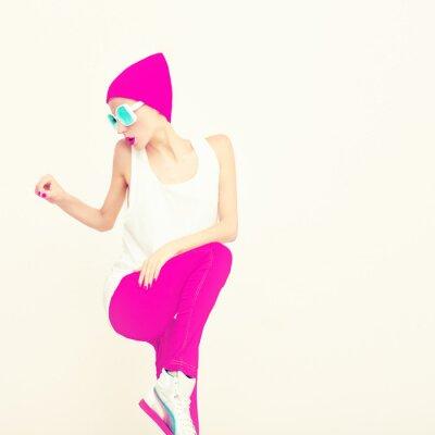 Obraz Moda party girl