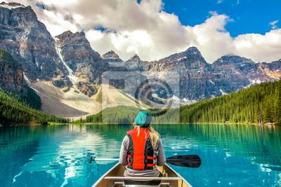 Obraz Moraine Lake Banff National Park Canada