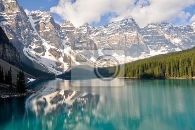 Moraine Lake, Góry Skaliste, Kanada