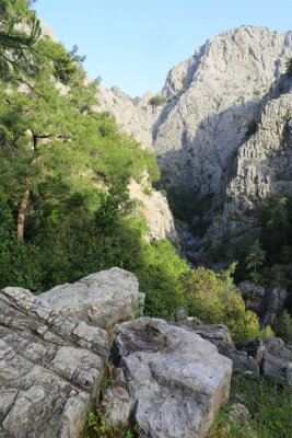 morning landscape in Goynuk Canyon