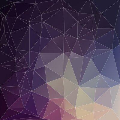 Obraz Mosaik Polygon tła
