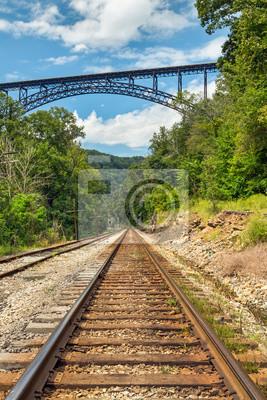 Most kolejowy i Big
