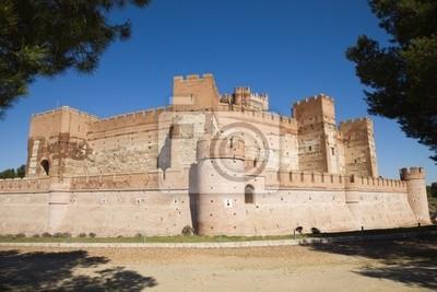 Mota Zamek w Medina del Campo, Valladolid, Hiszpania