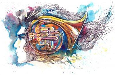 Obraz muzyk