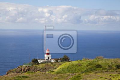 Na zachód punkt Madery - latarnia morska w Ponta do Pargo