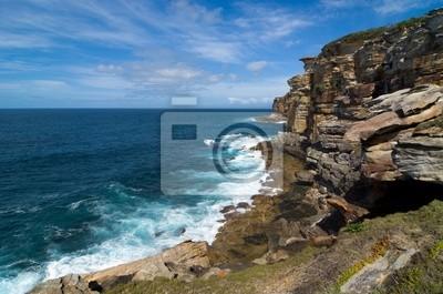 Nadmorskich klifów w Sydney