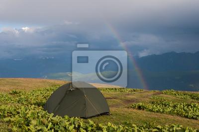 namiot i tęczy