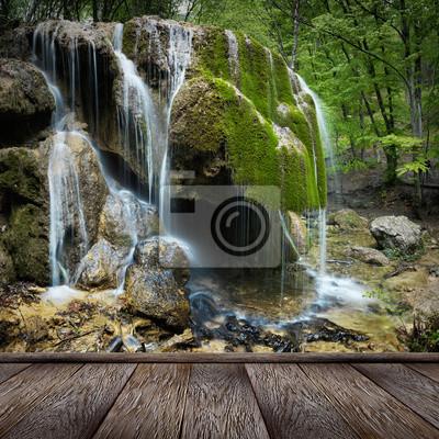 Natural Spring Waterfall