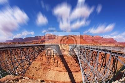 Navajo Bridge w transporcie i dla pieszych