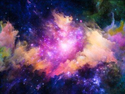 Obraz Nebula Projektowanie
