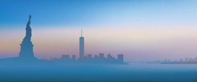 Obraz New York - Aube