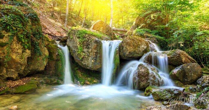 Obraz Nice waterfall