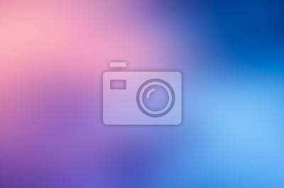 Obraz niebieski różowy rozmycie streszczenie tło