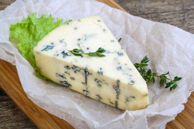 Obraz Niebieski ser