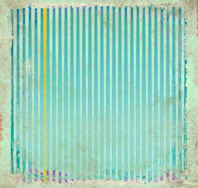 Obraz Niebieskie paski tle grunge