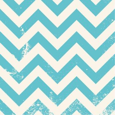 Obraz niebiesko chevron wzór o udzielenie tekstury
