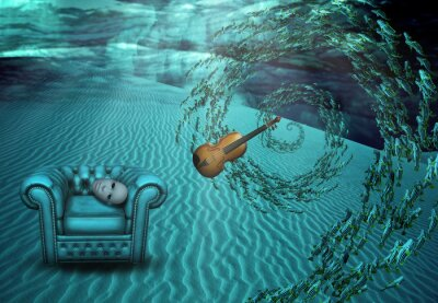 Obraz Nierealne Podwodne sceny