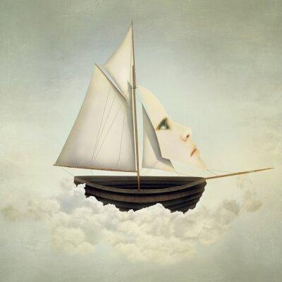 Obraz Nierealne statku