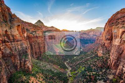 Obraz Niesamowity widok Zion National Park, Utah