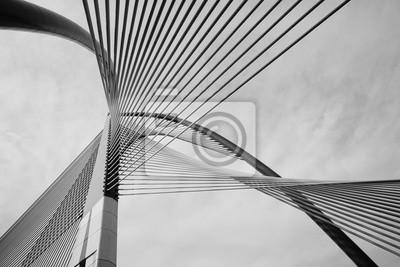 Obraz Nowoczesna architektura mostów