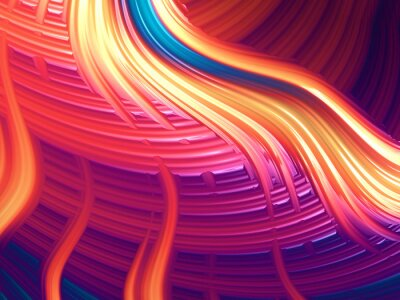 Obraz Nowoczesne abstrakcyjne energiczny tapety / tła