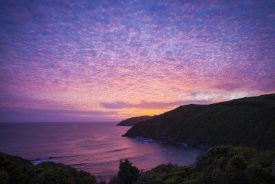 Obraz Nugget Point Catlins Nowa Zelandia am Abend