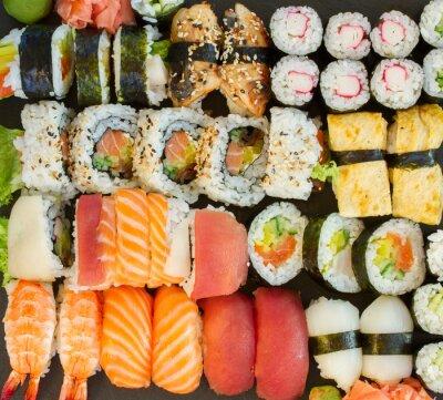 Obraz obiad z dania sushi