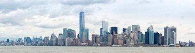 Obraz Obniżyć Manhatta NYC Panorama