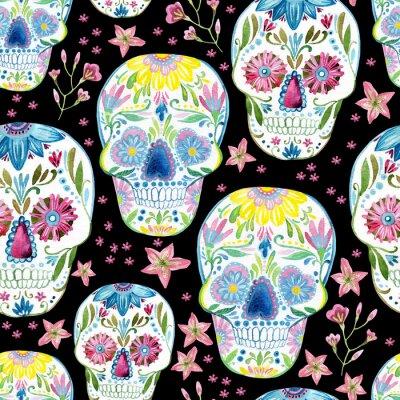 Obraz Obraz czaszki cukru