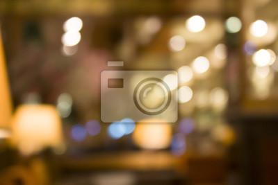 Obraz Obraz holu Rozmycie bokeh dla użytku w tle