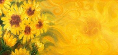 Obraz Obraz olejny na płótnie.