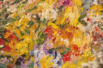 Obraz Obraz olejny tła. Koncepcja sztuki.