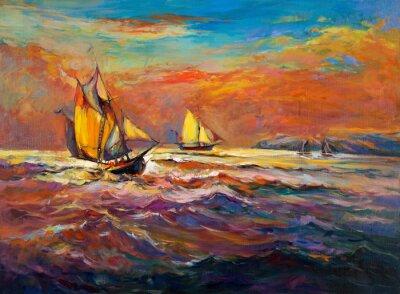 Obraz Ocean and ship