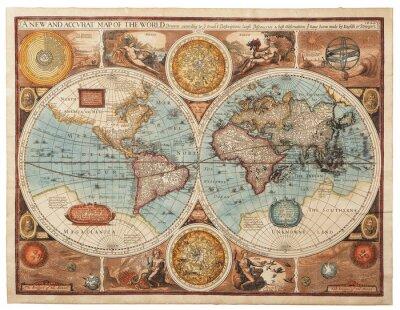 Obraz Old map (1626)
