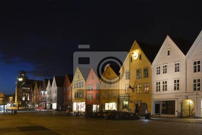 old street - Bergen, Norwegia
