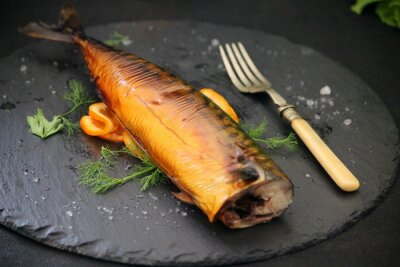 Obraz oleista ryba