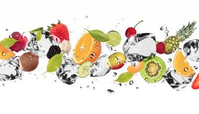 Obraz Owoce na białym tle Ice