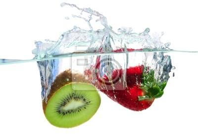 Obraz Owoce zalewaniem