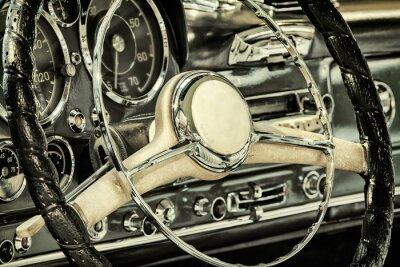 Obraz Panel z klasycznym samochodzie