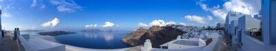 Obraz Panorama à Fira Santorini, Cyklady les en Grèce