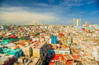Obraz Panorama miasta Hawana Vedado dzielnicy