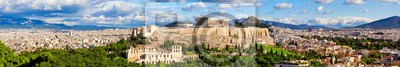 Obraz Panorama of Athens with Acropolis hill.