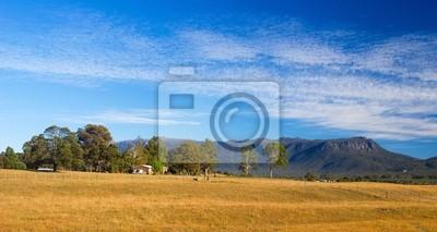 Panoramiczny Krajobraz Tasmanian