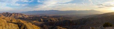 Obraz Panoramiczny widok na krajobraz pustyni