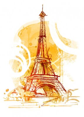 Obraz Paris Lato