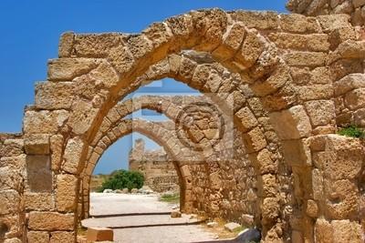 Park Narodowy Cezarei na wybrzeżu Morza Śródziemnego