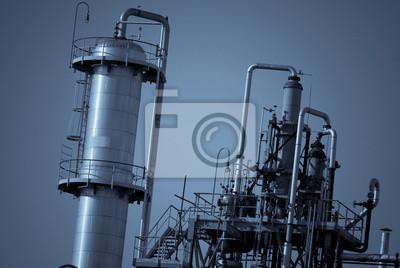 particolare Industria chimica inquinante