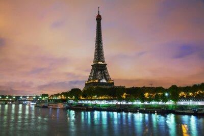 Obraz Paryż pejzaż z wieży Eiffla