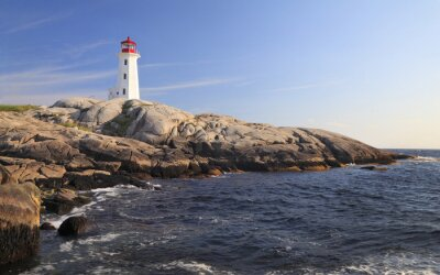 Obraz Peggy Cove Latarnia morska, Nowa Szkocja, Kanada