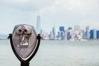 Obraz Pejzaż z Nowego Jorku z futerałem